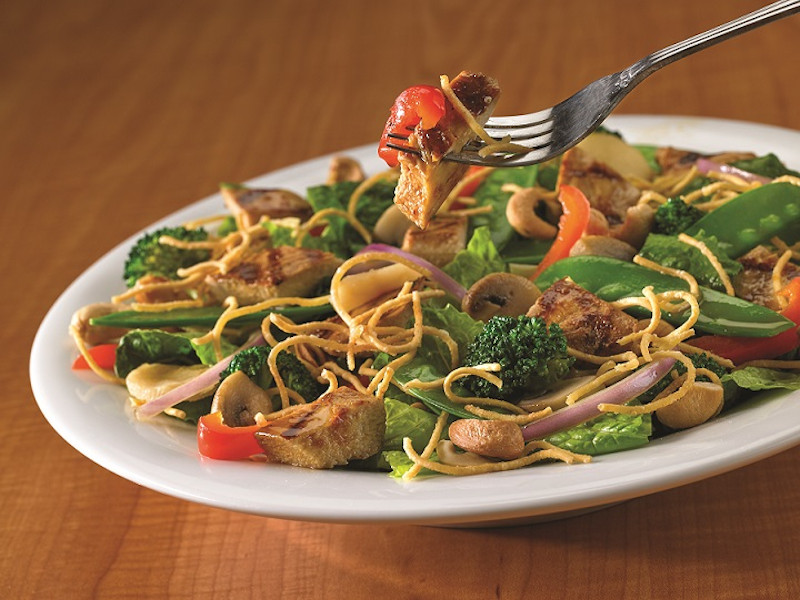 Eating Fit! Chicken Stir Fry Salad image