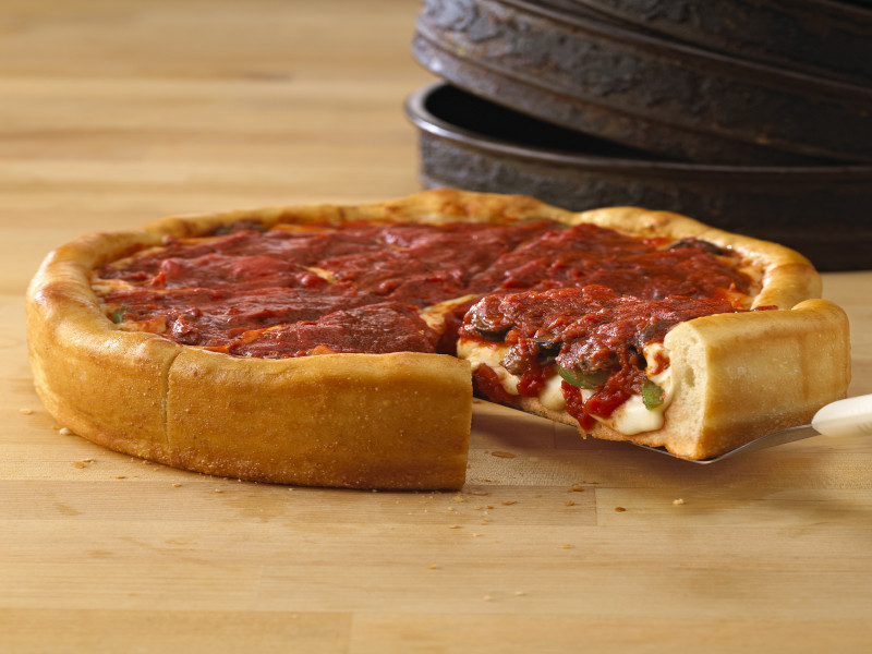 Build Your Own Deep Dish Pizza image