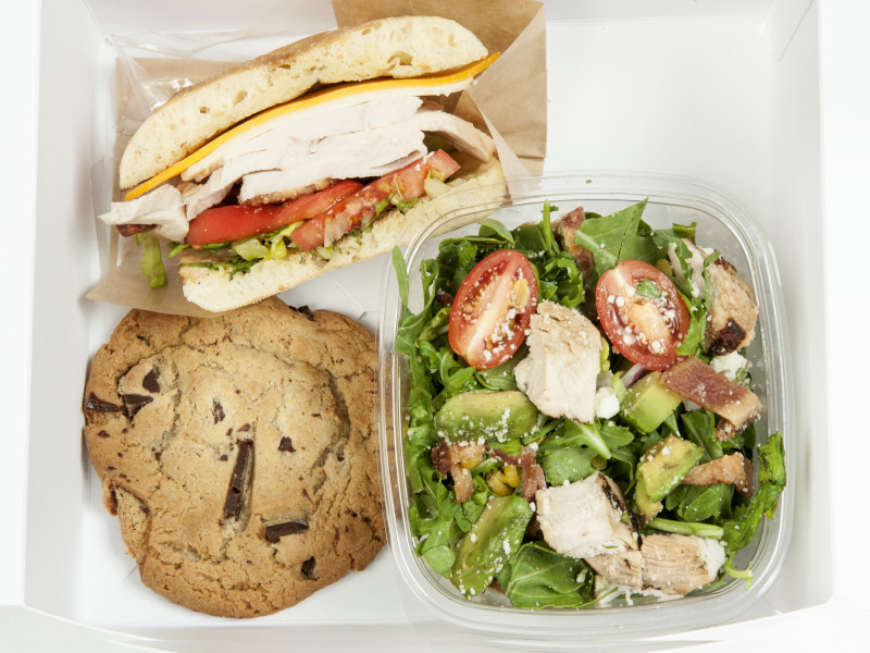 Sandwich & Salad Box Lunch image