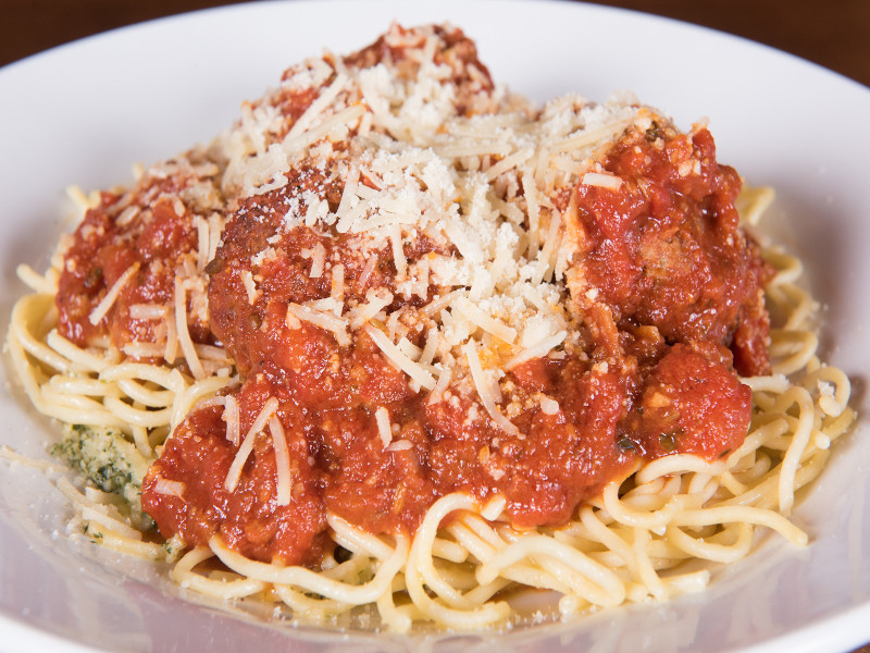 Spaghetti and Meatballs image