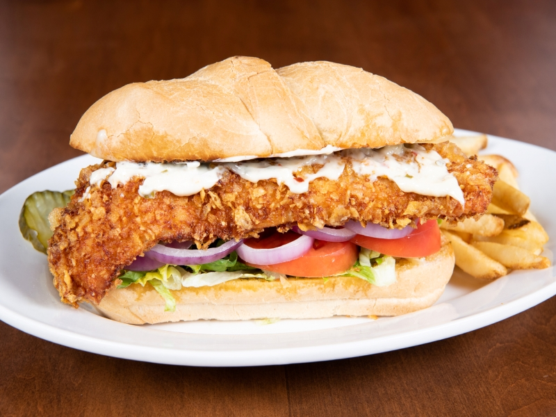 Kettle Chip Walleye Sandwich image