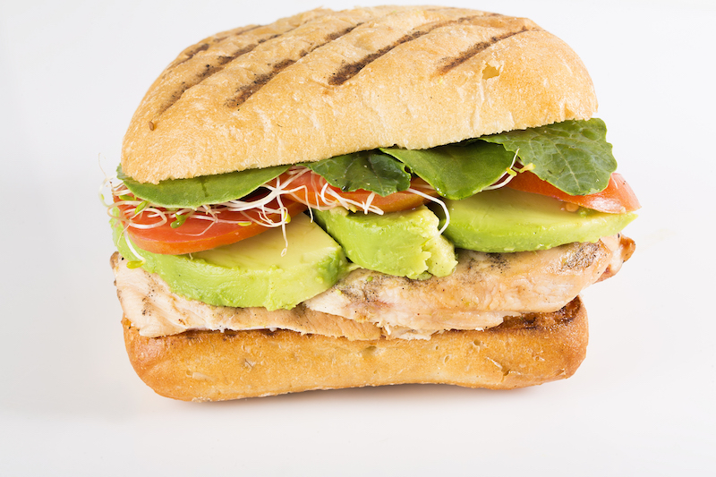 Grilled Chicken BLT Panini image
